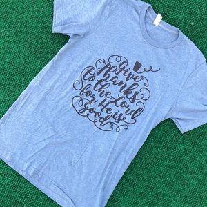Bella Canvas Christian message t-shirt
